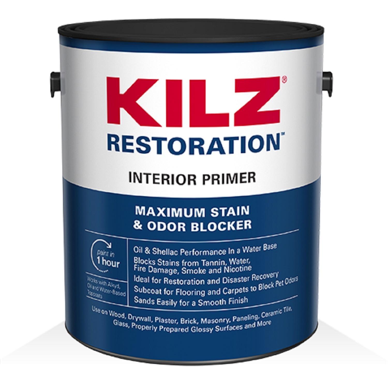 KILZ Restoration Maximum Stain and Odor Blocking Interior Primer