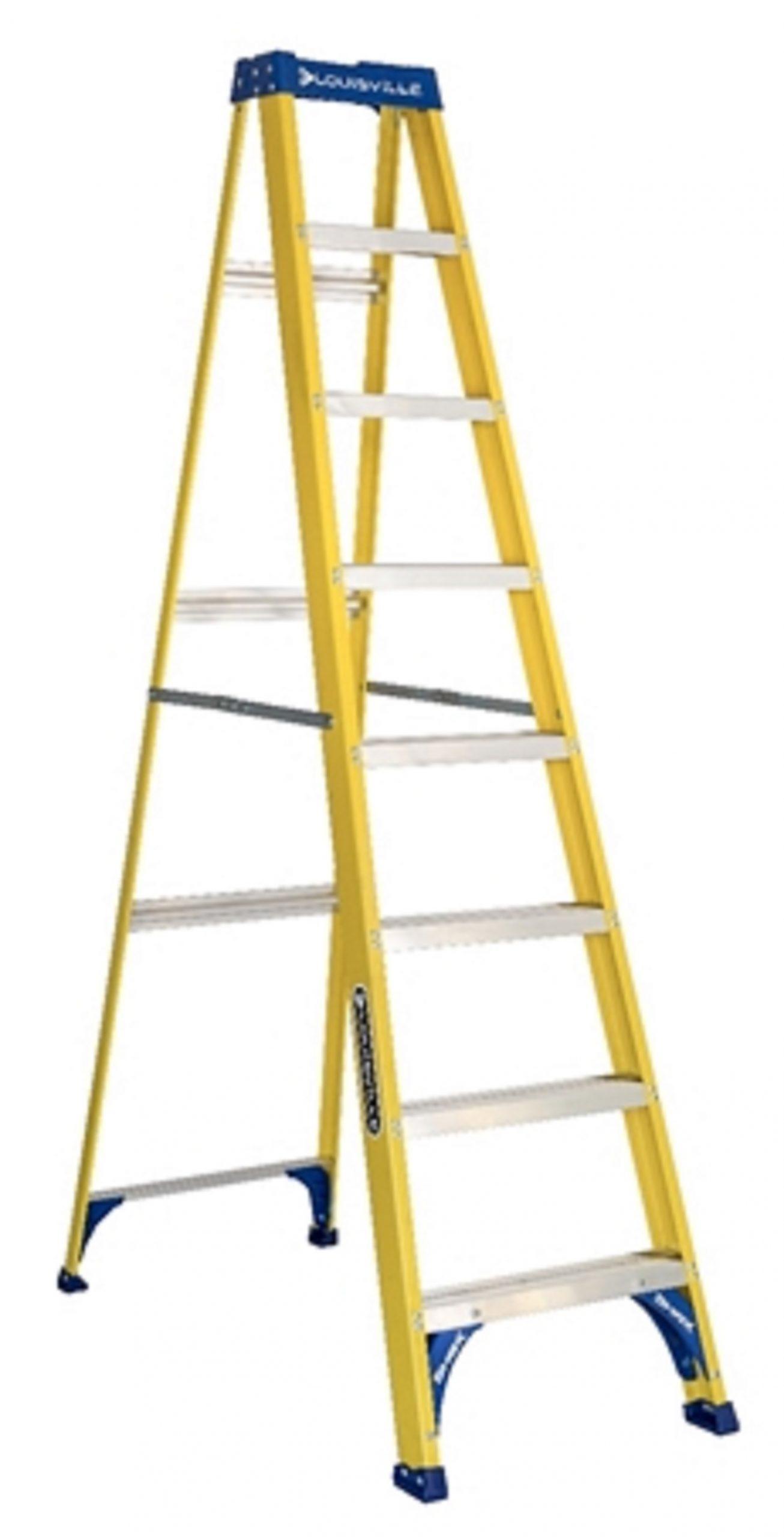 Louisville Fiberglass 8ft Ladder