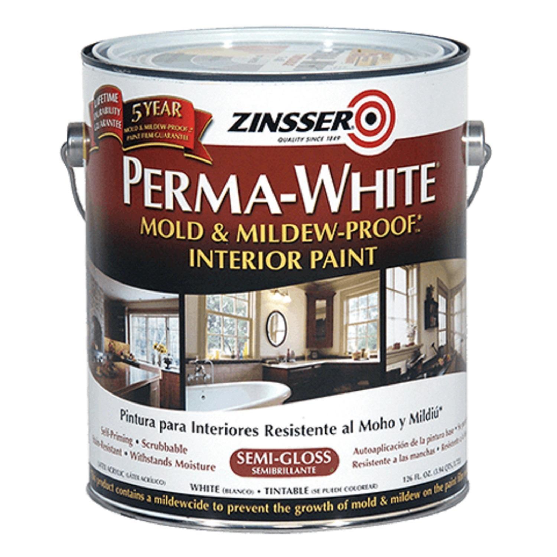 Rust-Oleum Perma-White Mold & Mildew Proof Interior Paint