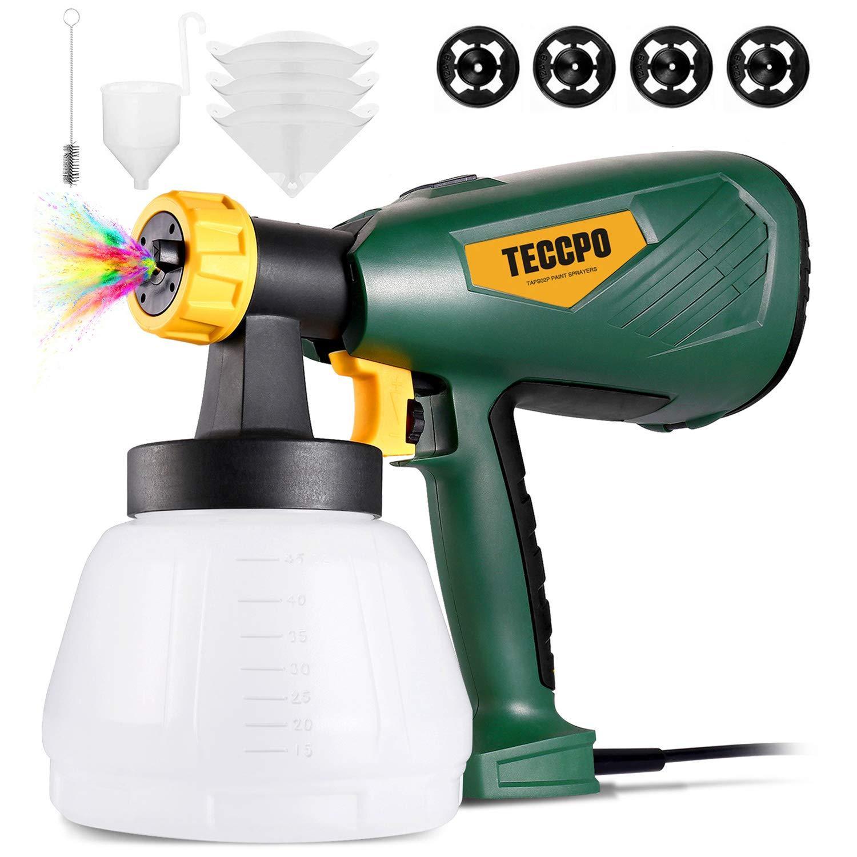 TECCPO High Power Electric Spray Gun Paint Sprayer
