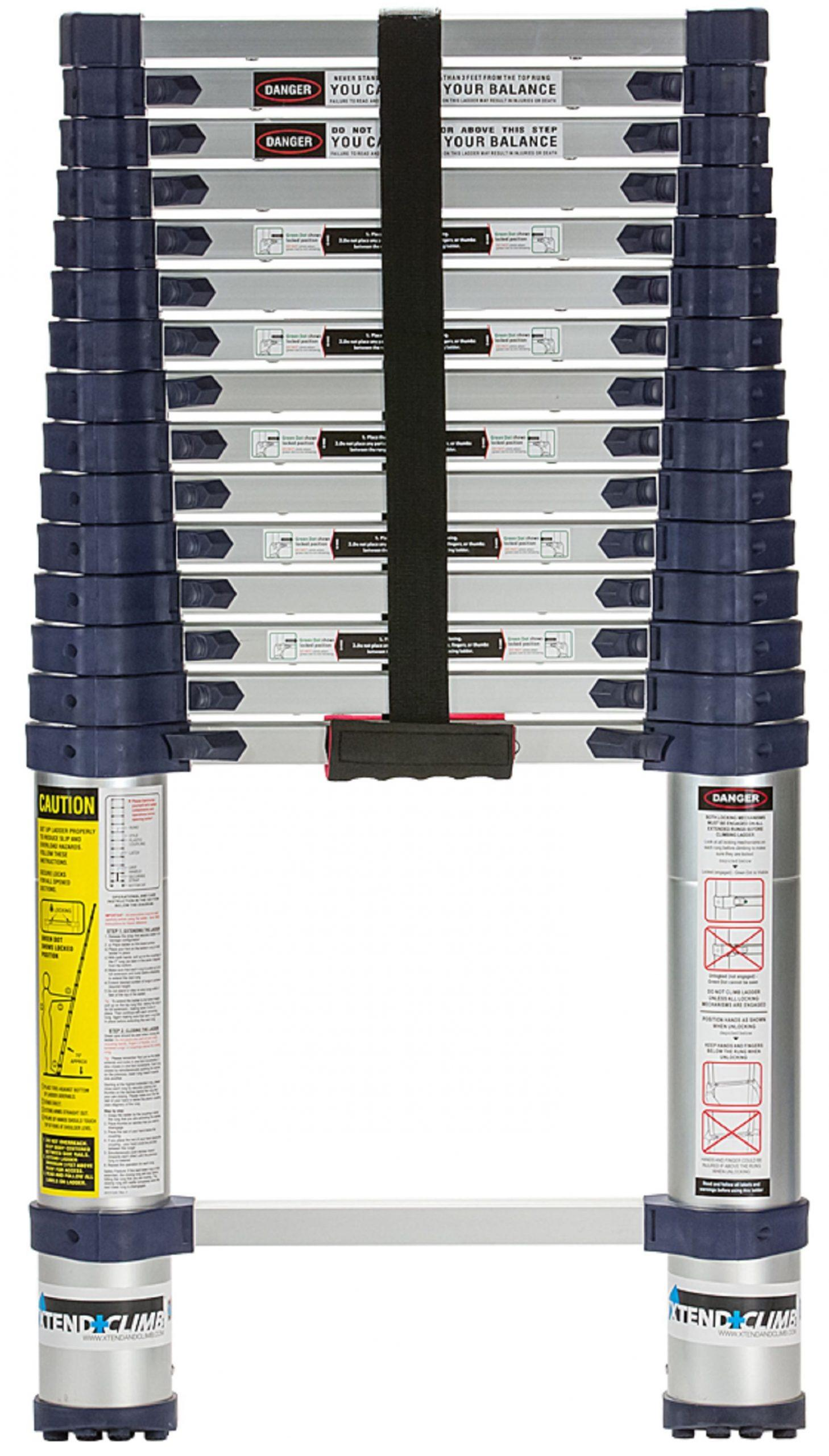 Xtend and Climb 15.5ft 785P Aluminum Telescoping Ladder